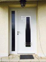 Porte entrée aluminium ATLAS | Agence Chelles