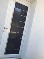 Porte entrée aluminium | Agence Chelles