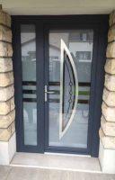 Porte entrée aluminium OPALE | Agence Coulommiers