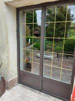 Grande porte-fenêtre Fenêtres alu | Agence de Coulommiers